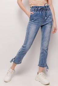 MONDAY PREMIUM jean à taille élastique