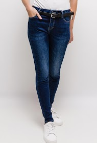 MONDAY PREMIUM jean with belt