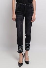 MONDAY PREMIUM jean com tornozelos chiques