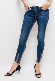 MONDAY PREMIUM jean with zipped ankles