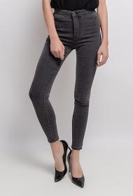 MONDAY PREMIUM jeans skinny cinza