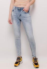 MONDAY PREMIUM jean skinny clair