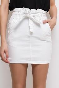 MONDAY PREMIUM skirt with belt