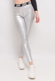 MONDAY PREMIUM love coated leggings