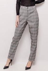 MONDAY PREMIUM pantalon à carreaux