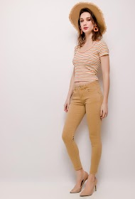 MONDAY PREMIUM pantalon skinny basique