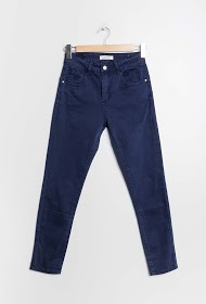 MONDAY PREMIUM cotton skinny trousers