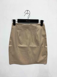 MOODY'S faux leather skirt