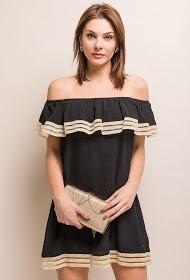MOODY'S off shoulder dress