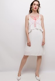 MOODY'S embroidery dress