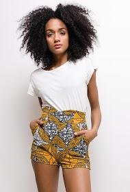 MOODY'S ethnische bedruckte shorts