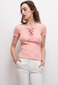 MOODY'S tshirt lacet