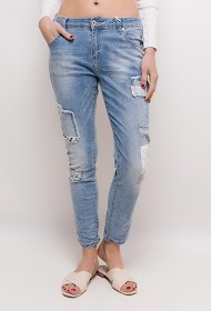 STARBEST jeans with patches