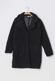 MOZZAAR  FOREVER sheepskin long imitation coat