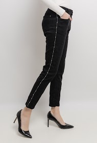 MOZZAAR  FOREVER pants with side bands