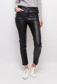MOZZAAR  FOREVER coated trousers