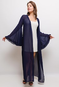 MY STYLE long caftan with flared sleeves