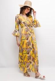 MY STYLE cashmere print dress