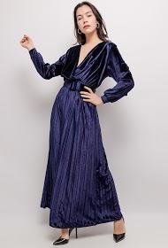 MY STYLE velvet dress