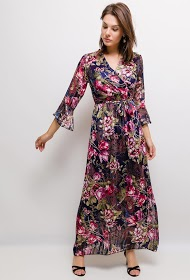 MY STYLE long floral dress