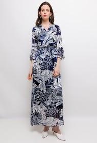MY STYLE printed long dress