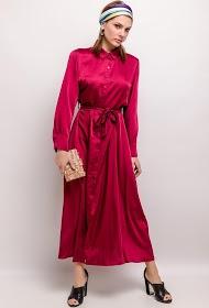 MY STYLE zijdeachtige jurk