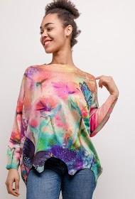 NESLAY printed sweater