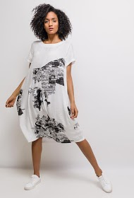 NESLAY printed dress