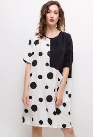NESLAY polka dot dress