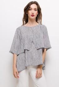 NESLAY striped blouse