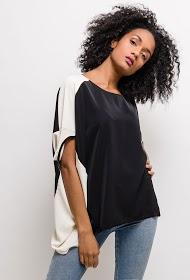 NESLAY two-tone blouse