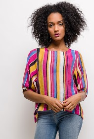 NESLAY colorful striped blouse