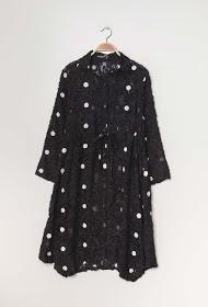 NESLAY túnica de bolinhas