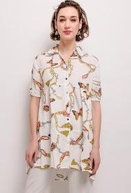 NEW LOLO chain print shirt