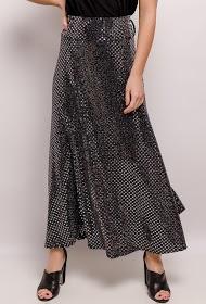 NEW LOLO sequin long skirt