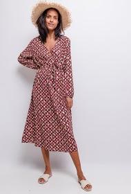 NEW LOLO printed midi dress