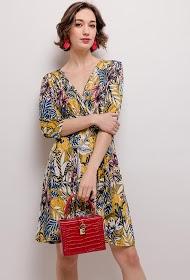 NEW LOLO printed stretch dress