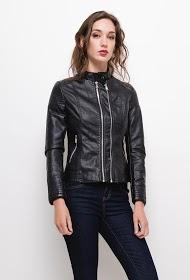 NEW LOLO leatherette jacket
