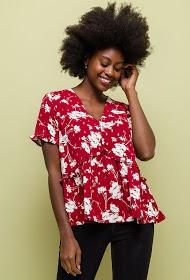 NOÉMIE & CO patterned blouse