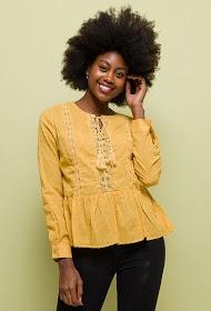 NOÉMIE & CO cotton blouse