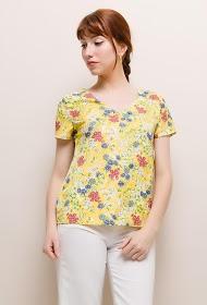 NOÉMIE & CO flower blouse