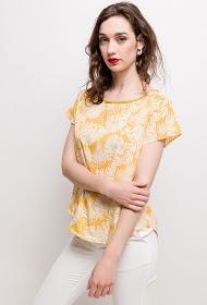 NOÉMIE & CO printed blouse