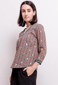 NOÉMIE & CO blouse imprimée
