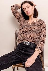 NOÉMIE & CO leopard blouse