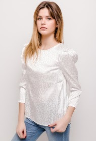 NOÉMIE & CO silky blouse