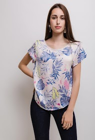 NOÉMIE & CO blouse tropicale
