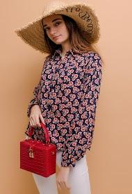 NOÉMIE & CO flower print shirt