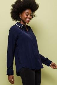 NOÉMIE & CO two-tone shirt