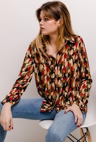 NOÉMIE & CO printed shirt