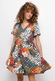 NOÉMIE & CO dress with printed flowers